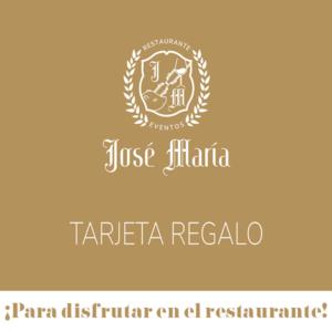 portada Tarjeta Regalo Restaurante